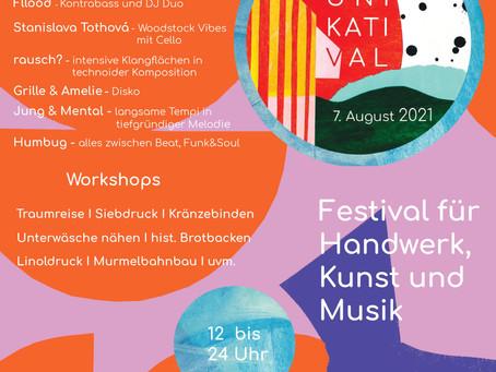 Unikatival 2021 - diesjähriges Programm