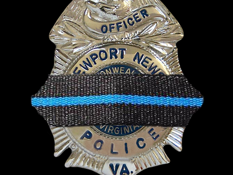 Newport News Police Officer Katie Thyne, 24, died Thursday night after being dragged by a vehicle