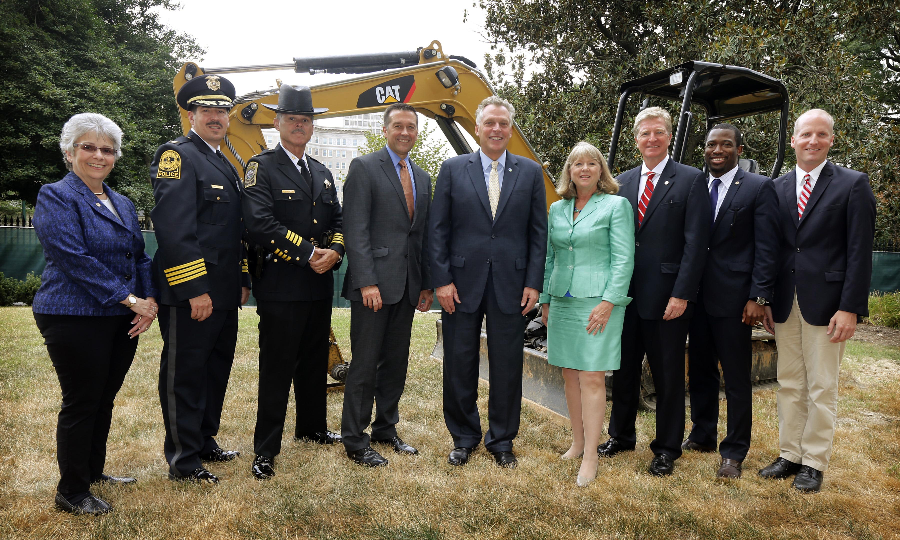 Memorial Construction Commences