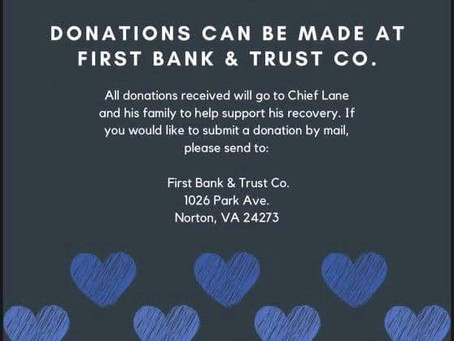 Donation fund organized to help Norton Police Chief James Lane during his recovery