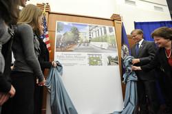 Memorial unveiling in Richmond