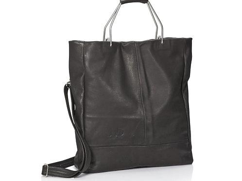 Black Leather Handbag & Shoulder Bag