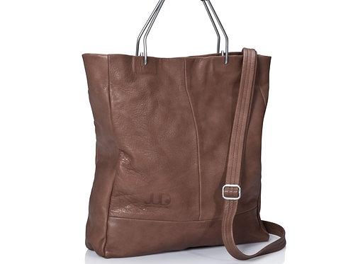 Brown Leather Handbag & Shoulder Bag