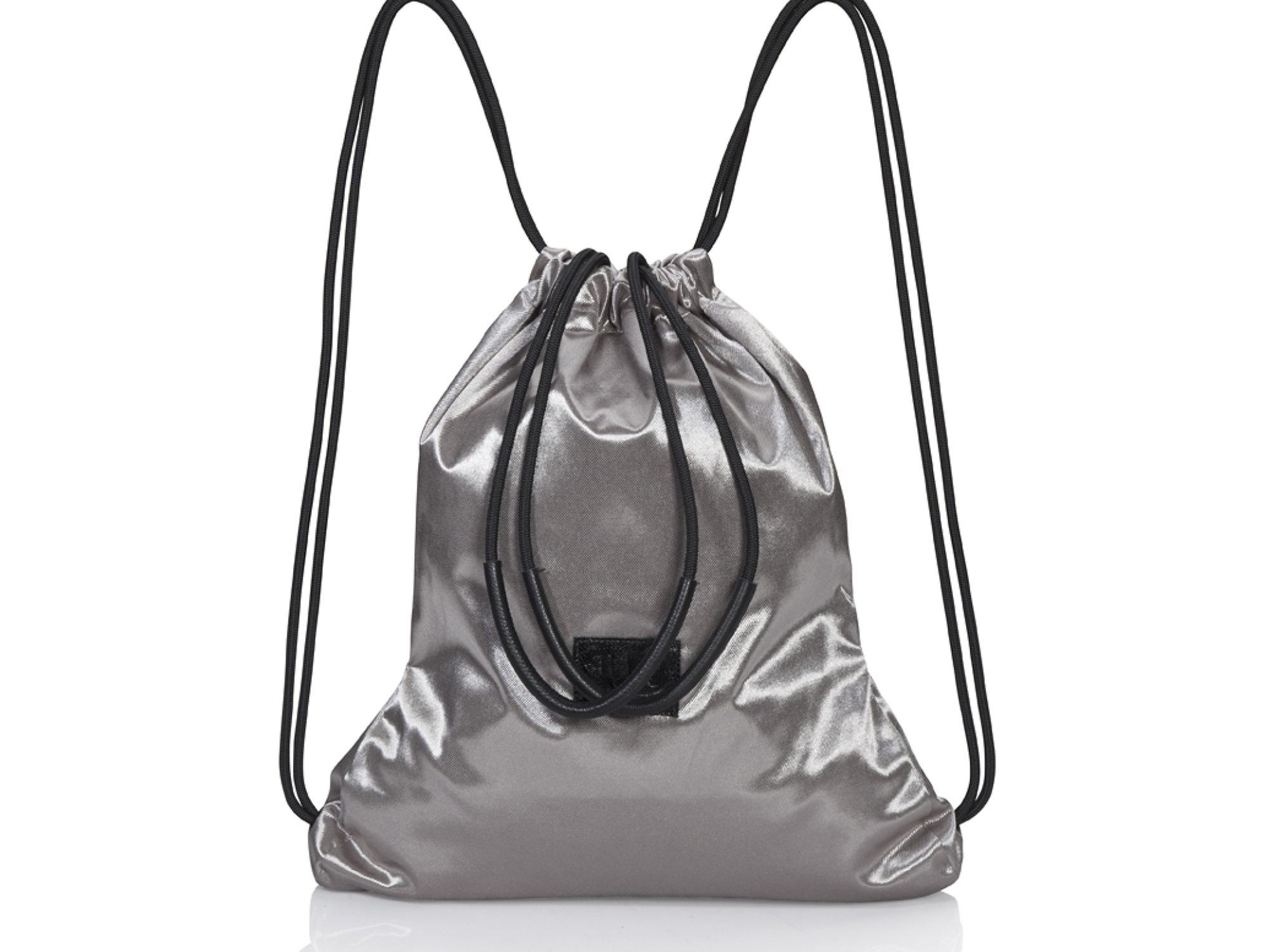 JUDtlv Online Shop Leather Bags | GOLD CANVAS MULTIWAY BACKPACK ...