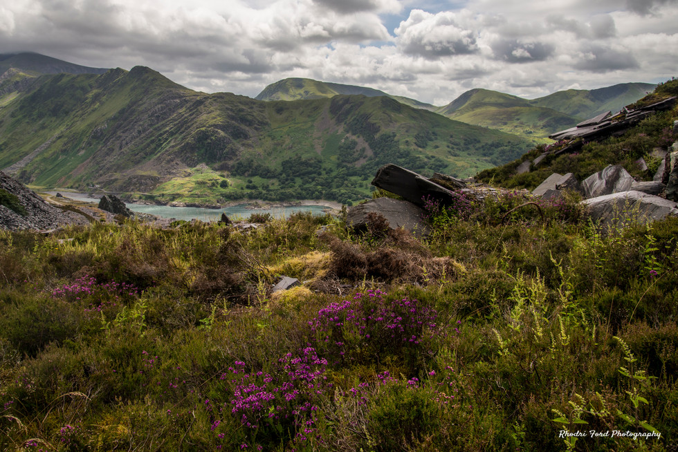 Snowdonia From Above Llanberis