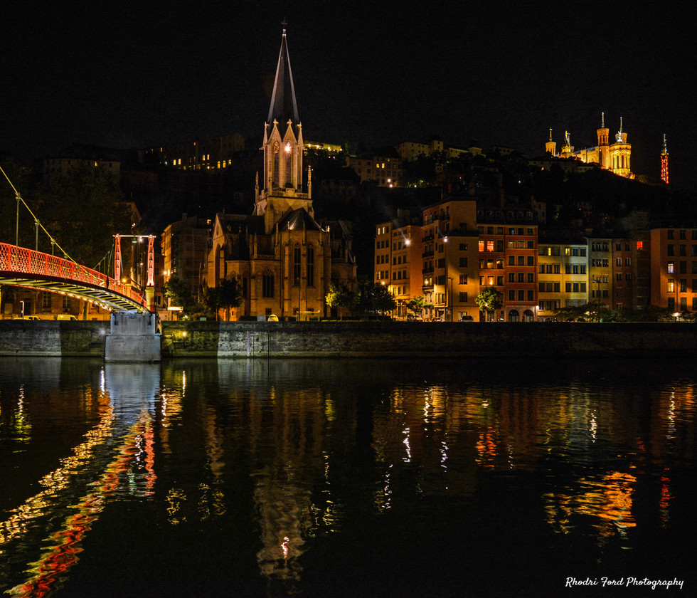 Old Lyon By Night