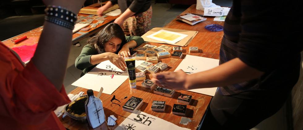 Charity art events