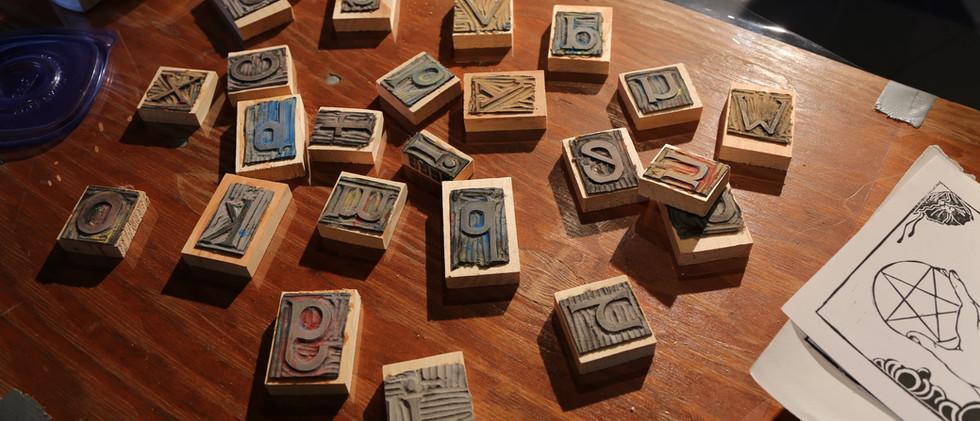 Non profit stamp making