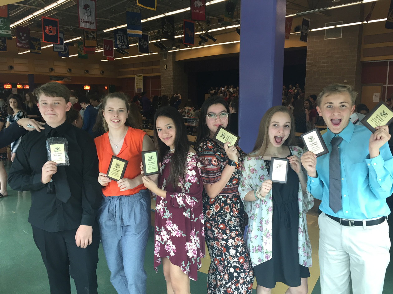 NEISD Speech Fest Winners