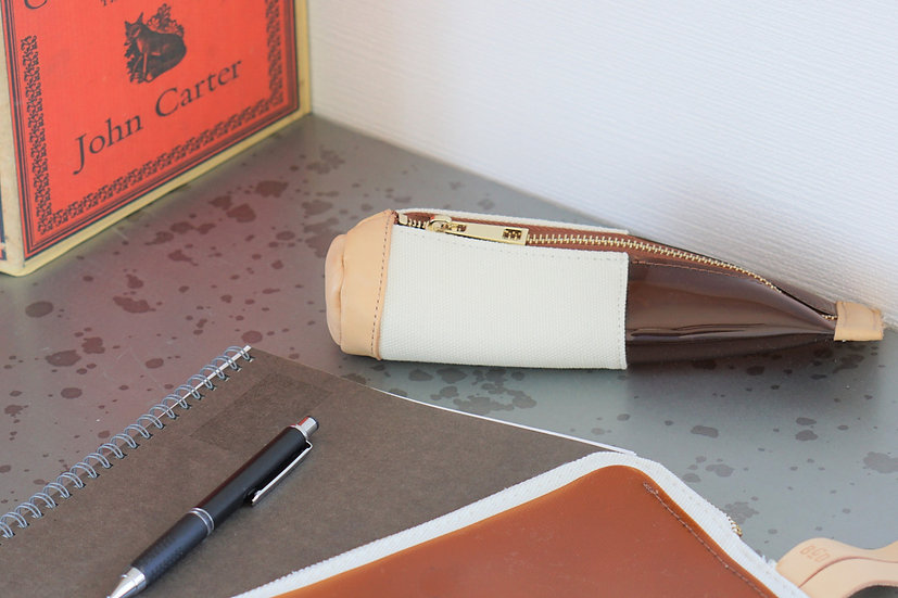 【BCD】Round Pencil Case