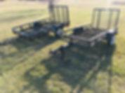 Carry On 4X8 Mesh Utility Landscape Trailer