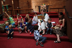 2015-06-14 Mount Cross visit Simonen anointing & worship 5.jpg