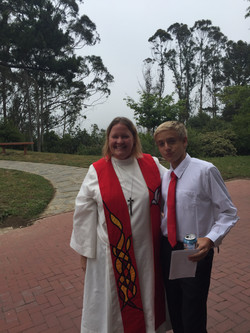 Pastor Kim and Henry