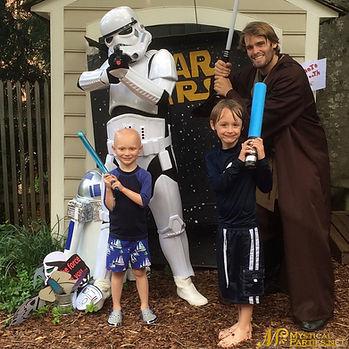 Star Wars parties Atlanta mystical parti