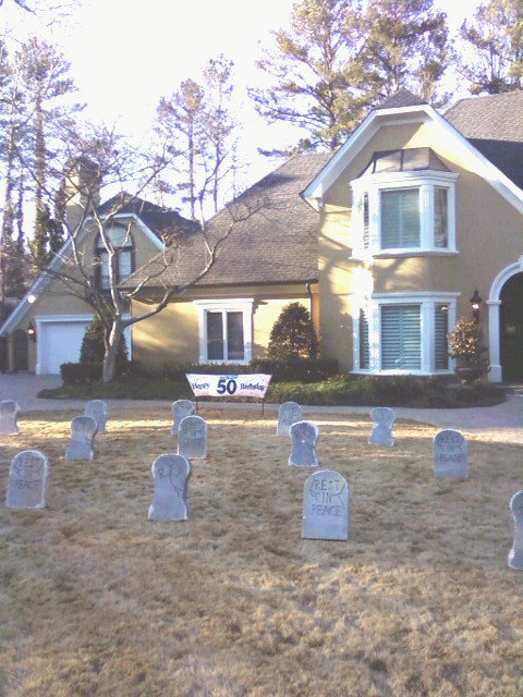 Tombstones by the Yard