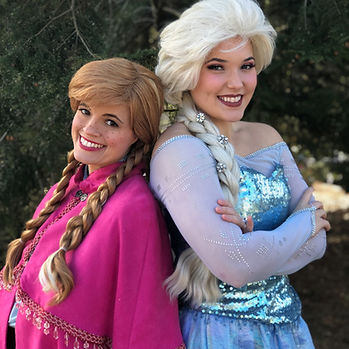 Frozen party character elsa atlanta char