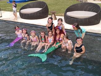 swimming mermaid parties atlanta character mystical parties