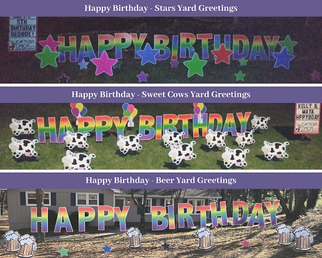 Sweet Cows Yard Greetings