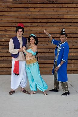 Aladdin and Jasmine Theme Birthday Parties in Atlanta