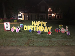 Birthday yard card greetings eastern onion atlanta