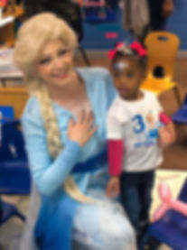 Frozen party character elsa atlanta char