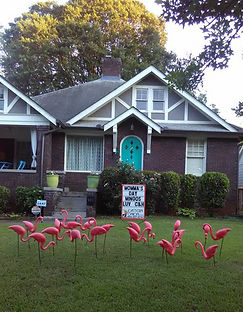 Flamingo Yard Decorations for Birthdays Eastern Onion