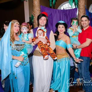 Aladdin Theme Parties