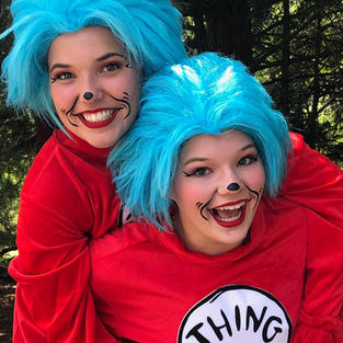 Cat in the Hat Theme Characters