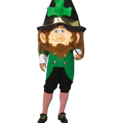 Leprechaun Mascot