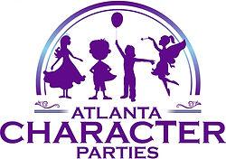 Atlanta Character Parties Logo - Revised
