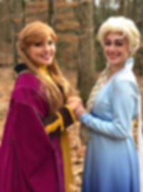 Frozen Sisters Atlanta Character Parties