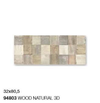 WOOD NATURAL 3D