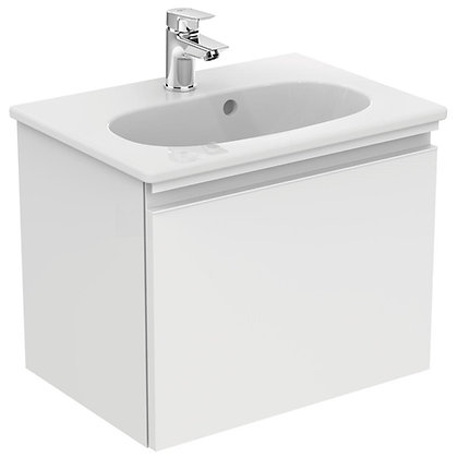 IDEAL STANDARD Κάτω μέρος TESI II 50cm λευκή γυαλ/ρή λάκα