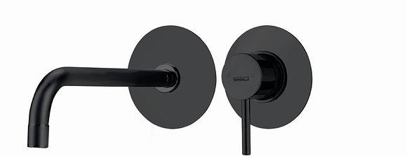 OIOLI MICRO MATT BLACK Εντοιχ/νή Νιπτήρος 20502/A-PTC08