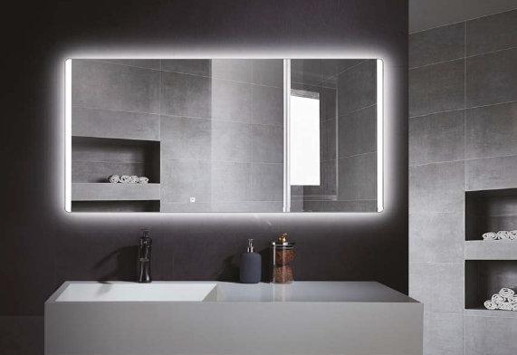 Καθρέπτης 90x65cm Warm Quattro Touch , με Πίσω κάλυμμα (Καπάκι)