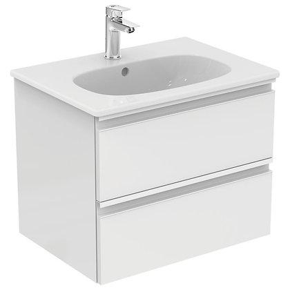 IDEAL STANDARD Κάτω μέρος TESI II 60cm λευκή γυαλ/ρή λάκα