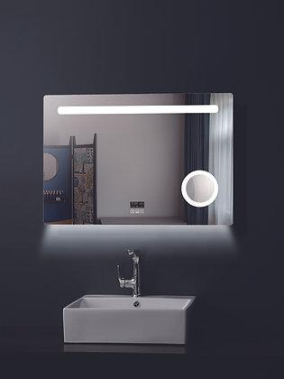 Καθρέπτης 90x70cmWarmSan Remo Touch με Αυτόνομα Φωτιζόμενο Μεγενθυτικό