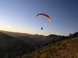 Le Chalvet Flying Site Introduction for Paragliding and Hang Gliding