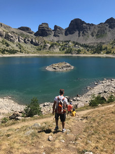 Hiking to Lac d'Allos