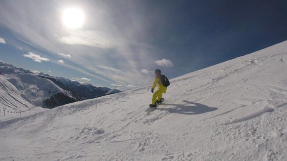 Sunshing Skiing at Val d'Allos