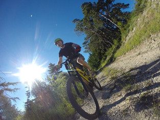 Mountain Biking in St André