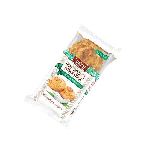 LeKras Бельгийское кокосовое печенье со сливочным вкусом