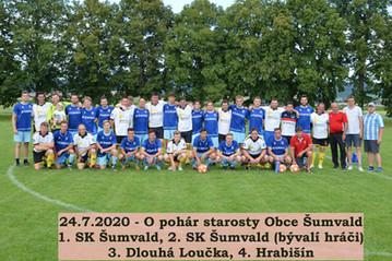 Turnaj o Pohár starosty obce Šumvald 2020