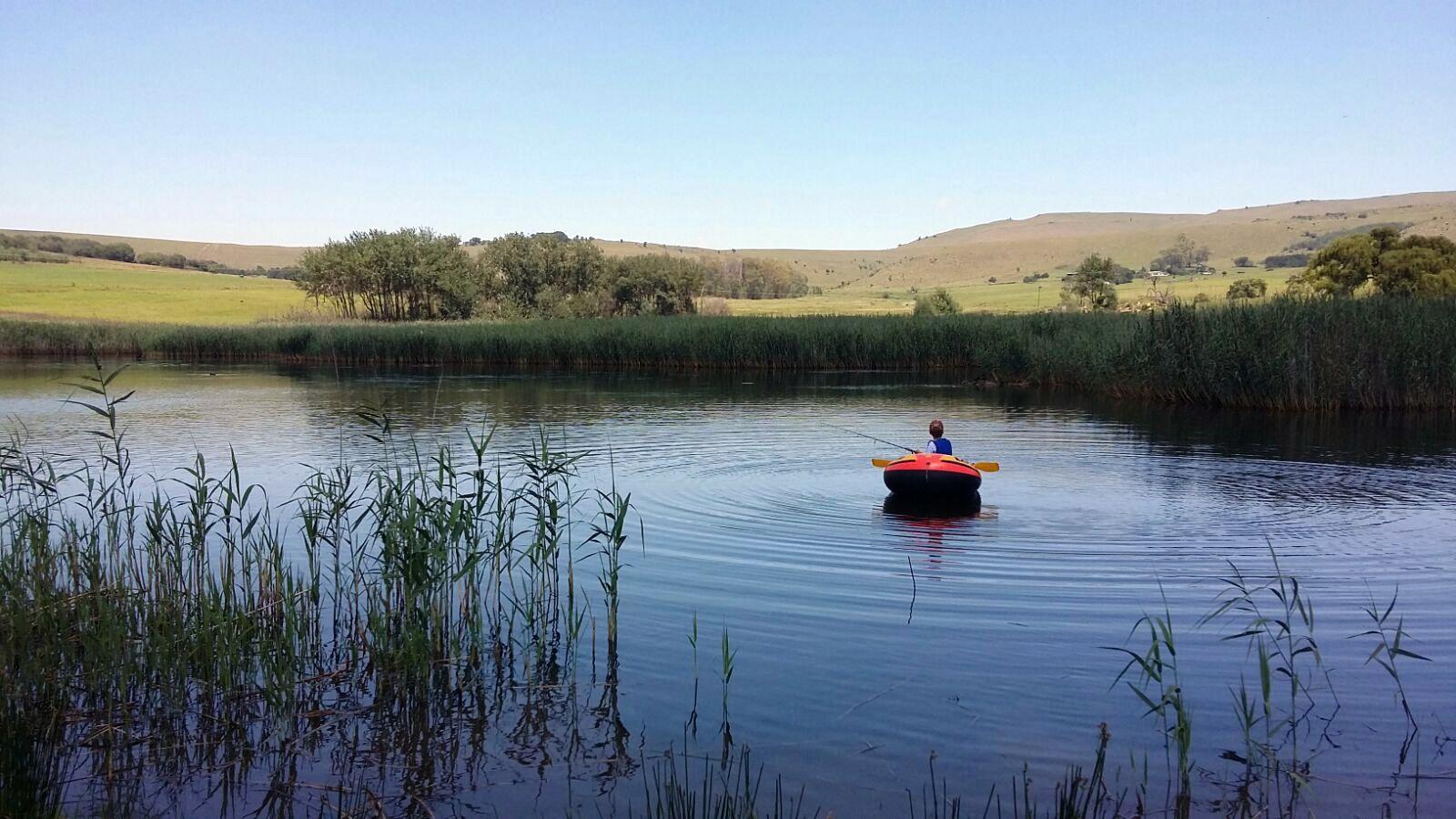 Tubing on Loch Heron