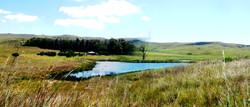 The Farmhouse from Buchanan Dam
