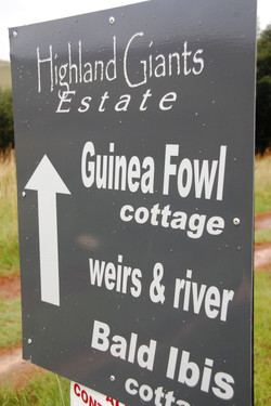 cottages are signposted