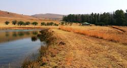 Buchanan dam & The Farmhouse