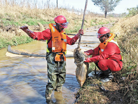 Government believes Ekhurhuleni Water Care Company is up to the task of the Vaal River clean-up