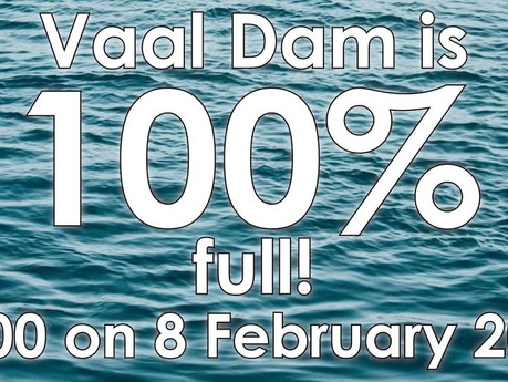 Vaaldam hits 100% after being at 25% two months ago