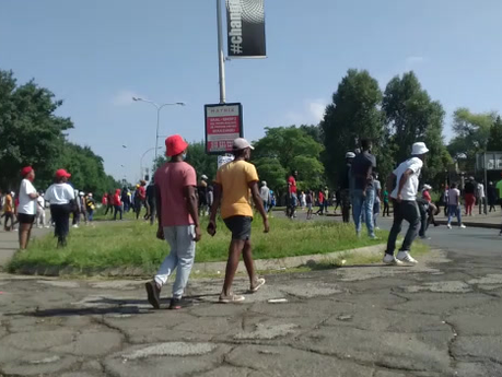 VUT warned against protest action at its campus this morning